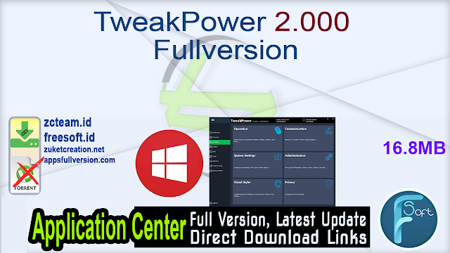 TweakPower 2.000 Fullversion