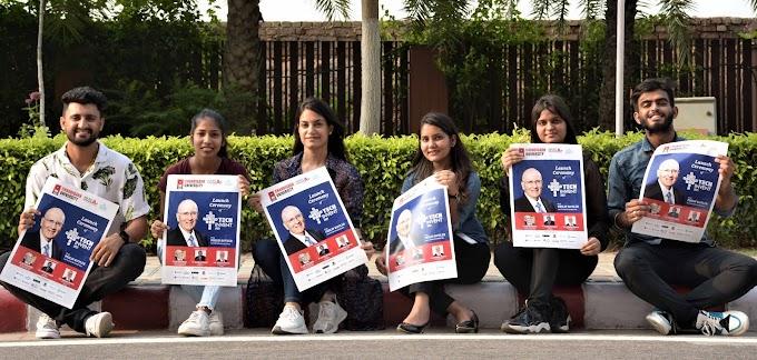 "Prof. Philip Kotler ""The Father of Marketing"" inaugurates International TechInvent-2021 at Chandigarh University"