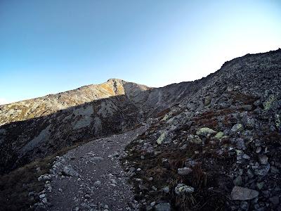 szlak na Krywań Tatry Wysokie
