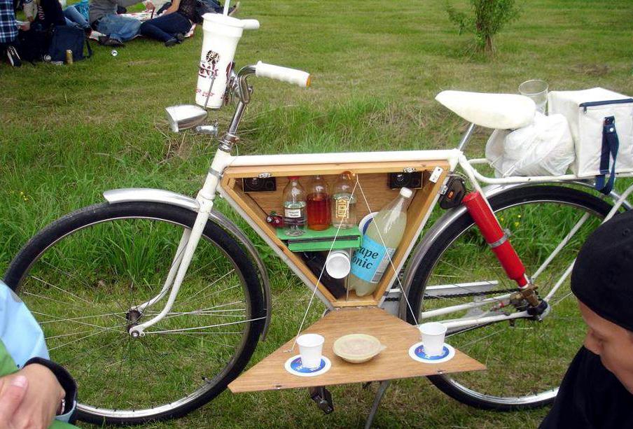 Car Modification Coolest Bike Accessory Ever A Picnic