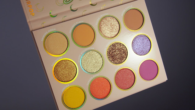 Colourpop x Sailor Moon eyeshadow palette