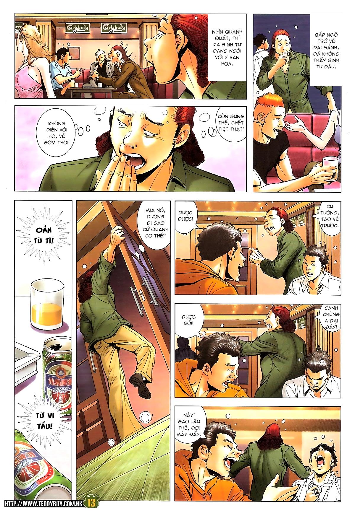 Người Trong Giang Hồ chapter 1646: đại hạn lâm đầu trang 12