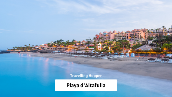 Altafulla Travel Guide: Playa d'Altafulla - A Guide To The Best Beaches In Tarragon Spain. September, 2019
