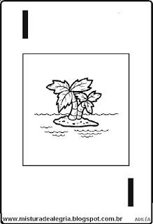 Baralho alfabético letra I