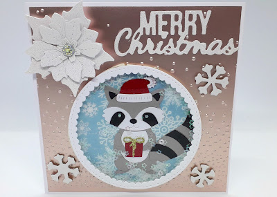 positivelypapercraft Christmas shaker card ideas