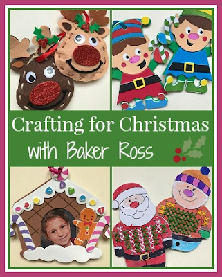 Crafting for Christmas with Baker Ross