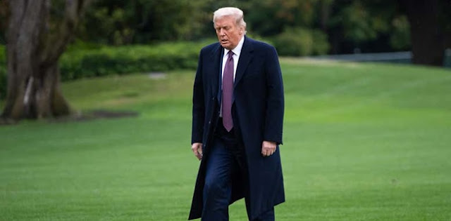 Kapan Dan Di Mana Sebenarnya Trump Terpapar Covid-19?