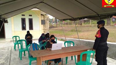 Wujud Bhakti Brimob Banten Untuk Masyarakat, Sediakan Wi-Fi Gratis Untuk Belajar Daring