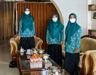 TP PKK Batu Bara Hadiri Sosialisasi Vaksinasi Covid-19 Bagi Ibu Hamil