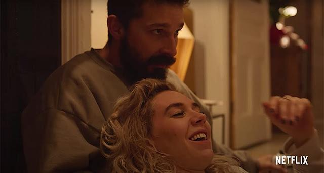 Shia LaBeouf y Vanessa Kirby. Imagen de Netflix.