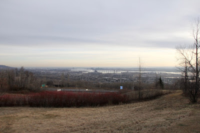 overlooking the St. Louis River entering Duluth Harbor and Lake Superior