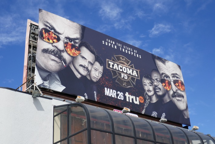 Tacoma FD season 2 billboard