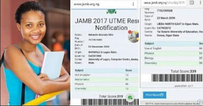 over 300 scores in jamb