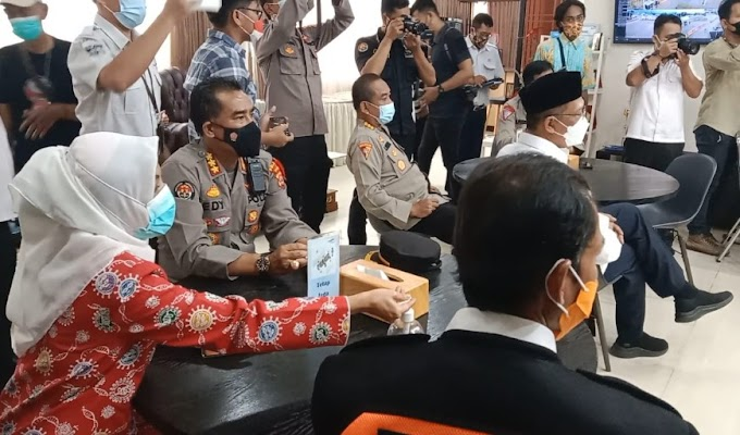Usai Apel Gelar Pasukan Ops Maung 2021, Kapolda Banten Himbau Masyarakat Tidak Lakukan Mudik