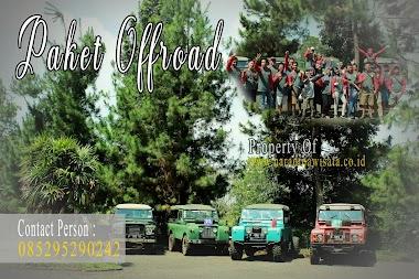 Wisata Offroad Cikole Lembang - Bandung