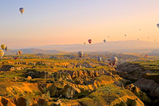 Capadócia Turquia balões