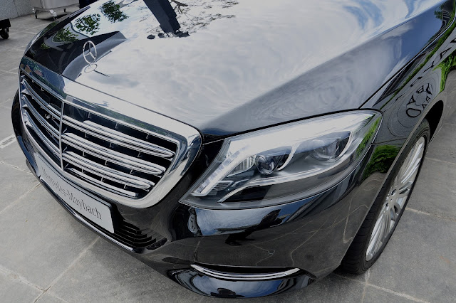 Mercedes Maybach S500 có khả năng vận hành vượt trội cùng công nghệ an toàn hàng đầu,
