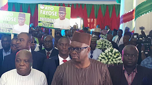 Check in To See Photos From Fayose's Presidential Declaration Today