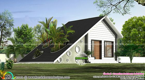 Single family cottage home plan