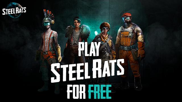 Steam 商店限時免費領取《Steel Rats》