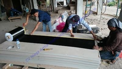 Persiapan Material Perkuatan Struktur Beton