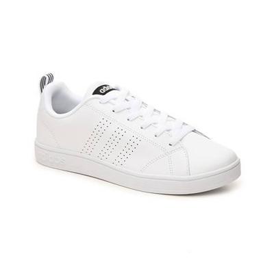 white Adidas neakers