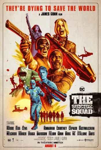 The Suicide Squad 2021 720p 1.1GB HDRip Dual Audio