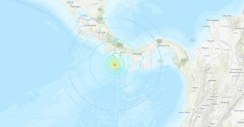 TERREMOTO en PANAMÁ de 6.8 (Hoy Miércoles 21 Julio 2021) Sismo Temblor EPICENTRO - Punta Burica - Chiriquío - En Vivo Twitter - Facebook - USGS