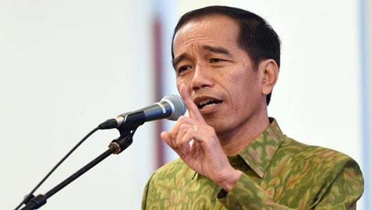 Jokowi Tegaskan Bakal Lanjutkan Pembangunan Infrastruktur