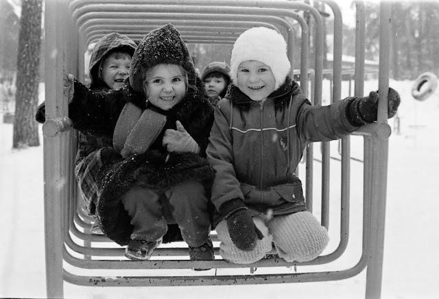 1980-е годы. Рига. Межапарк. Детский городок (автор фото: Виктор Лисицын)