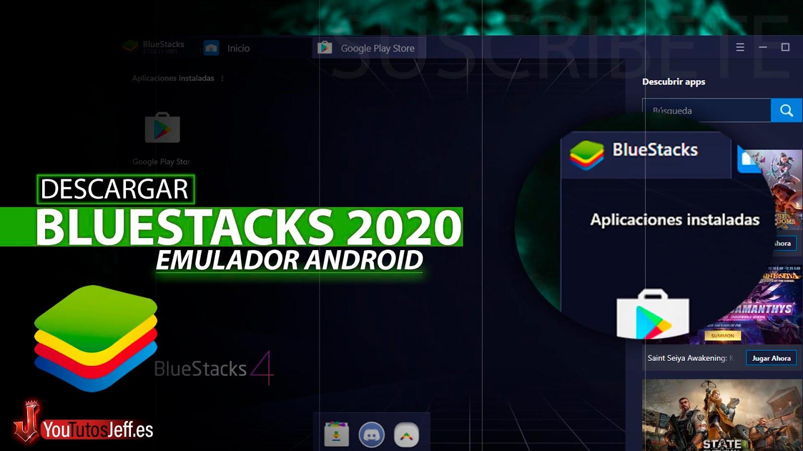 Como Descargar Bluestacks Ultima Versión 2020, El Mejor Emulador Android