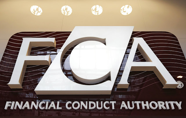 Image Attribute: The new logo of UK's Financial Conduct Authority / REUTERS/Chris Helgren