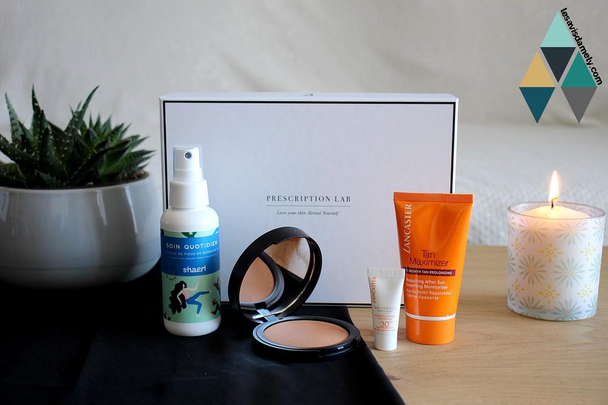 avis et test prescription lab juin dolce vita box beauté