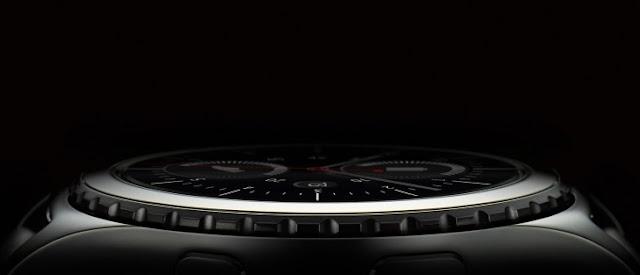 Samsung Gear S3 dengan fitur altimeter, barometer, dan speedometer berbasis GPS