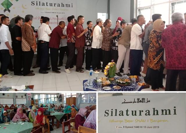 Keluarga Besar SMAN 1 Banjaran Gelar Acara Silaturahmi