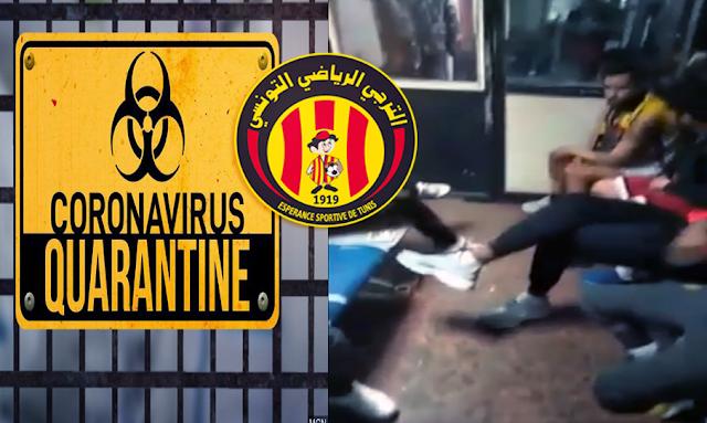 """المحامي شريف الجبالي : أمن السيسي أوقف بعض جماهير الترجي مع مصابين بفيروس """"كورونا"""""""