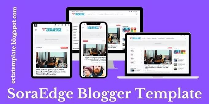 Soraedge Blogger Template   Professional tech blogger template