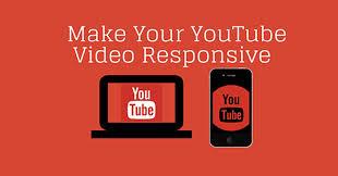 Cách nhúng video Youtube vào Web Blogger chuẩn Responsive