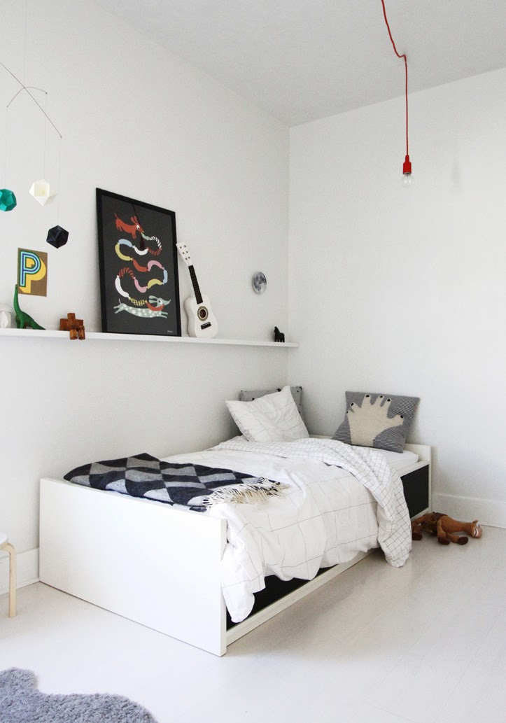 Mommo Design Minimalist Boys Rooms