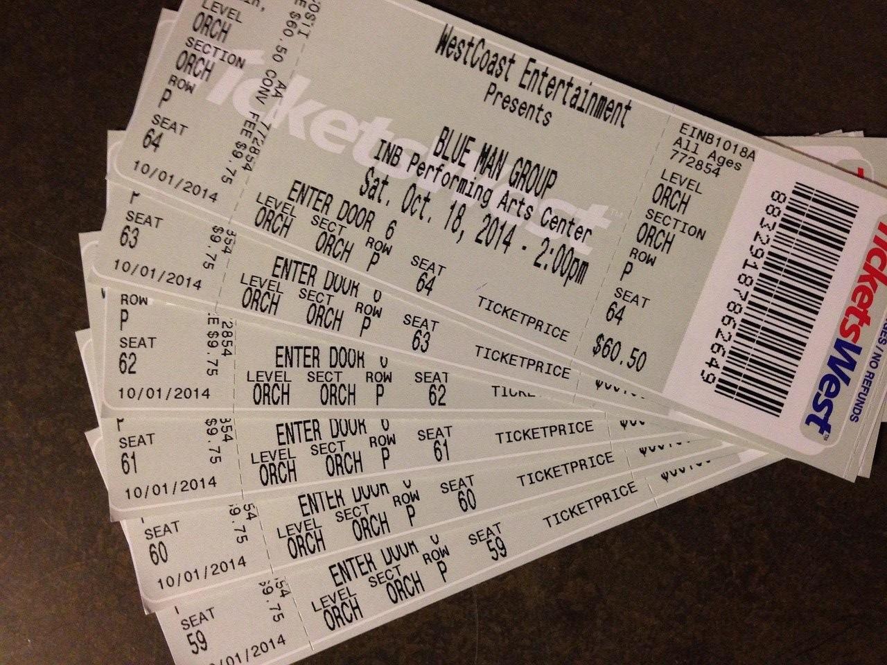 Get 'em Concert Tickets for Less
