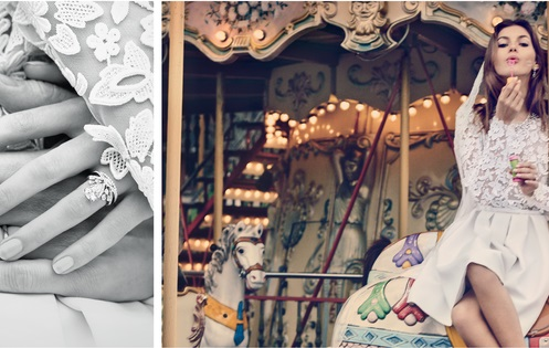 """Chaumet presenta su nueva campaña de novias con """"El amor en París"""""""