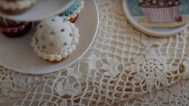 Tutorial Mantel Lace a Crochet