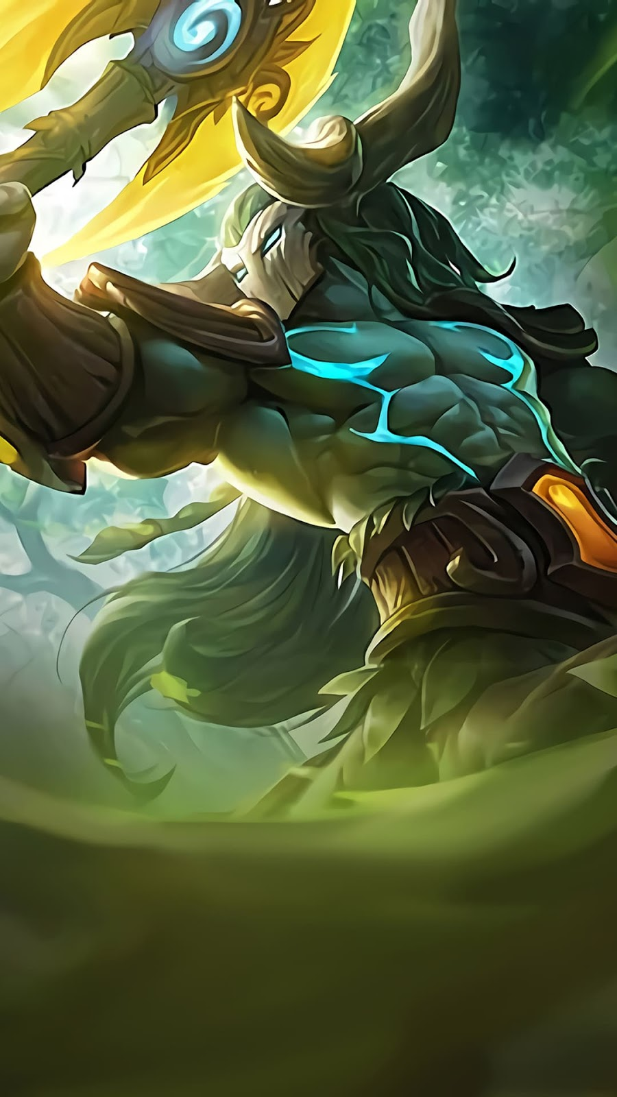Wallpaper Hylos Jungle Watcher Skin Mobile Legends HD for Android and iOS