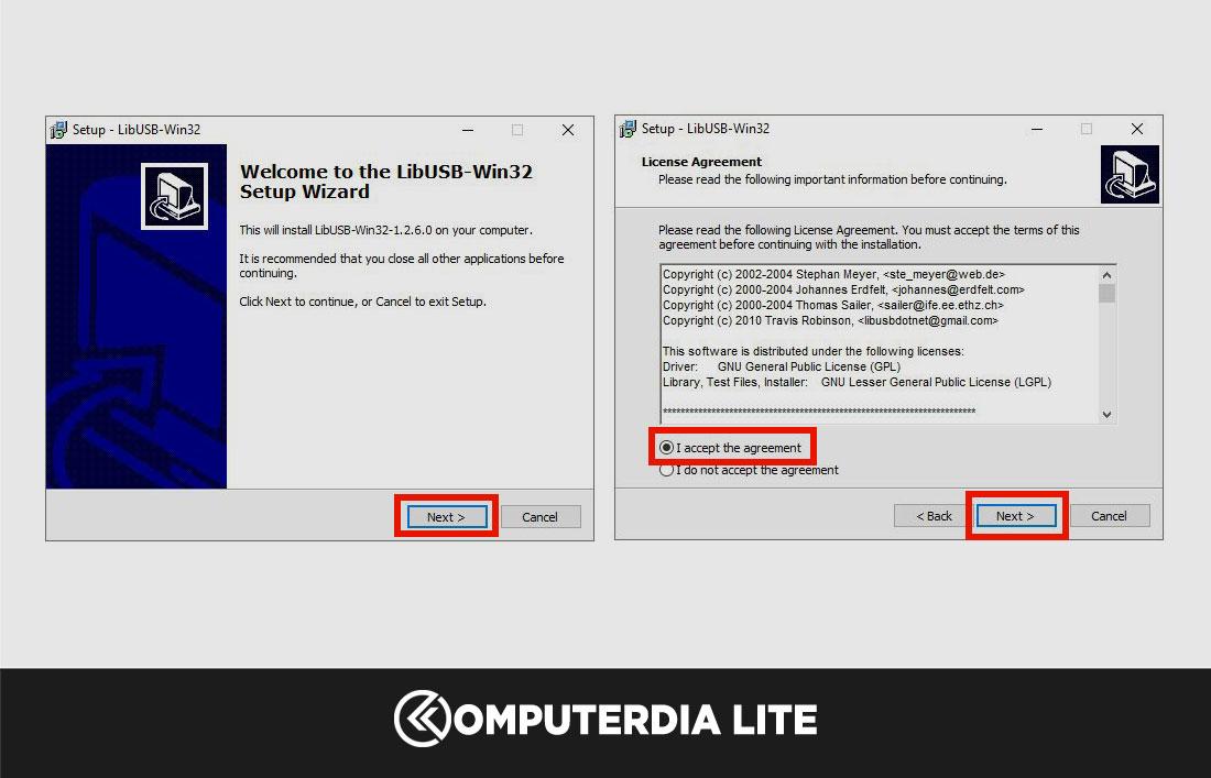 Cara Install Driver Libusb Devel Filter Mediatek Pada Komputer atau Laptop