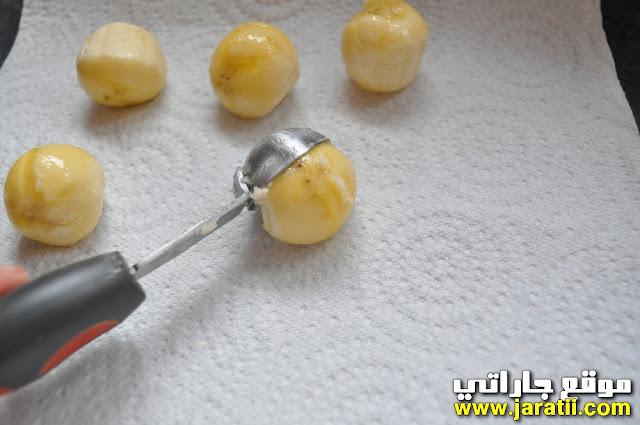 مصاصات الفاكهة بالشكلاتة للأطفال