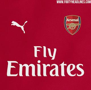 [Photo] Arsenal Home Kit For Next Season Leaked