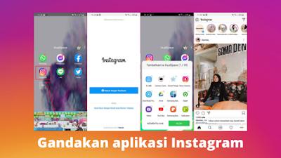 Cara membuat 2 aplikasi Instagram dalam 1 hp