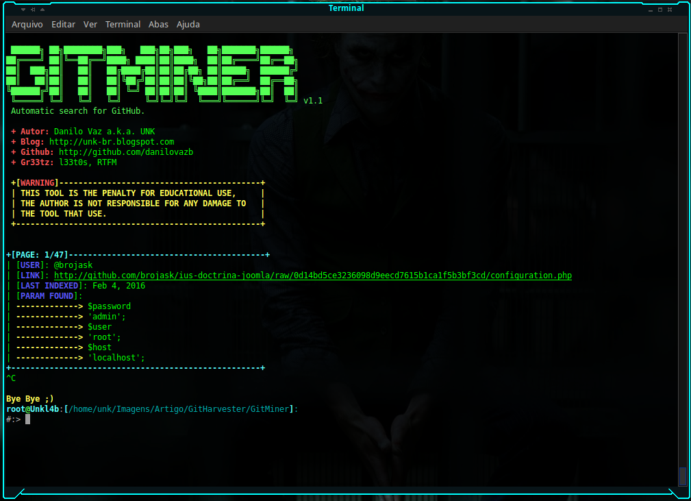 GitMiner Screenshot 2