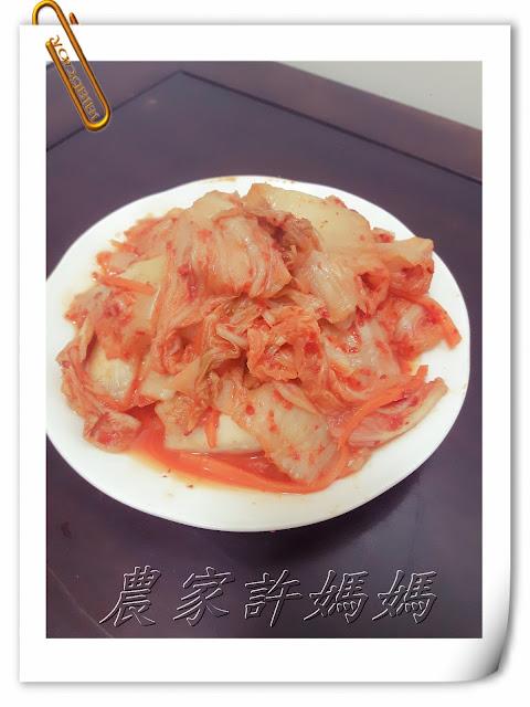 五彩繽紛韓國泡菜蘿蔔做法-農家許媽媽