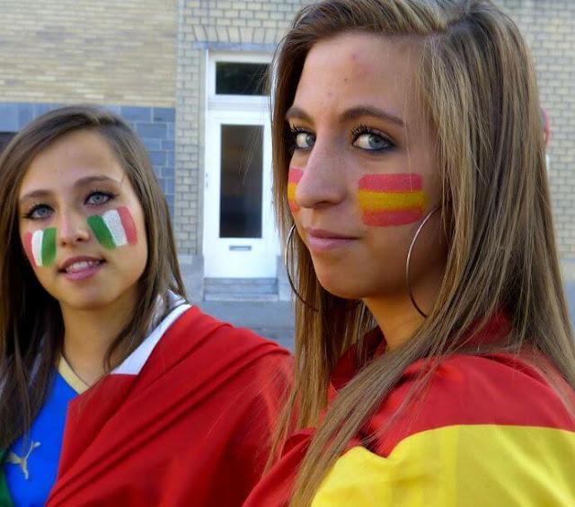 Marriage: Spanish women against Italian women
